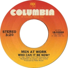 men at work who can it be now