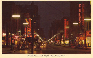 Euclid Avenue at Night